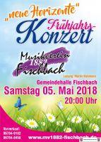 Frühjahrskonzert des Musikvereins Fischbach am 05. Mai 2018