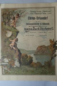 Ehrenurkunde September 1925